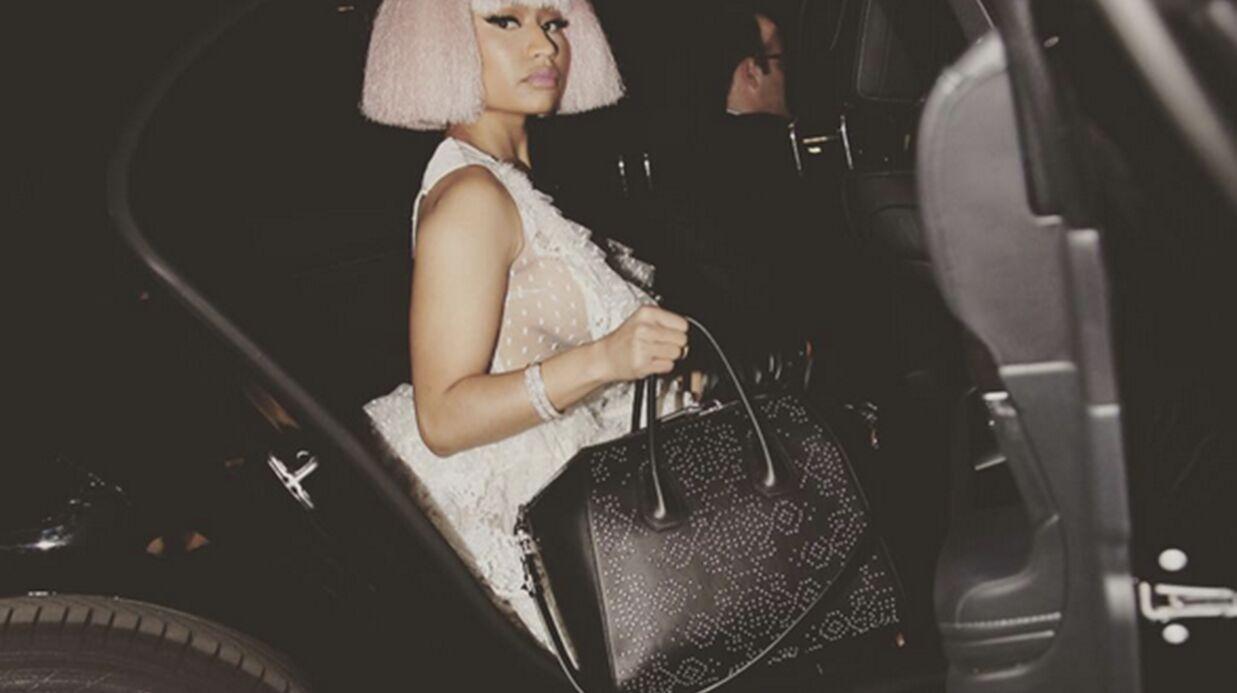 PHOTOS Nicki Minaj et son festival de tenues sexy chez Givenchy