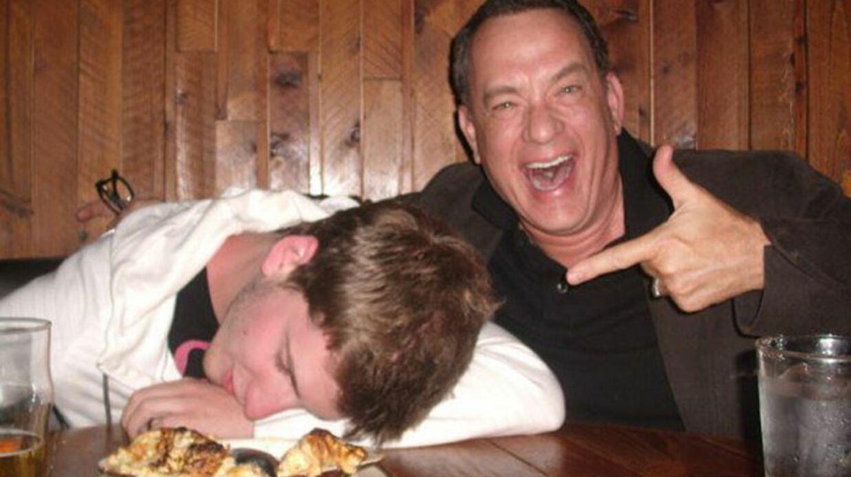 Tom Hanks délire avec un fan