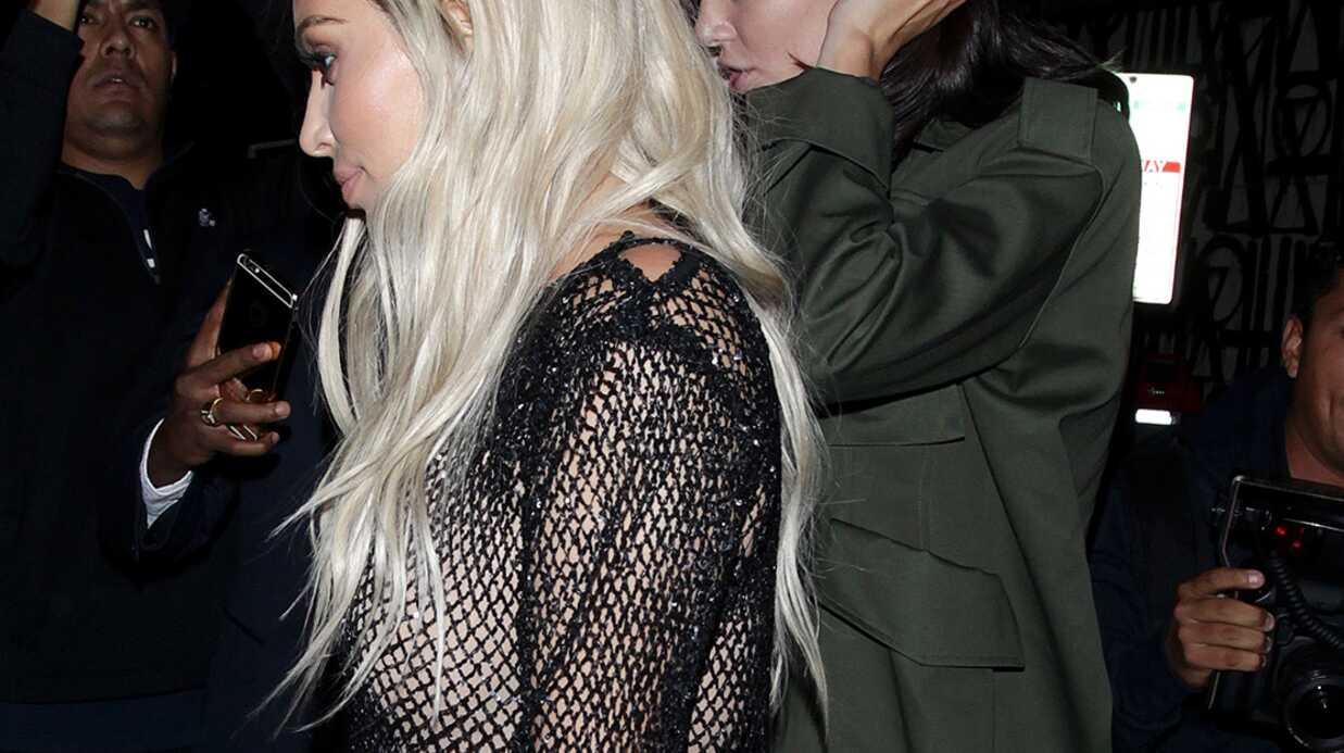 PHOTOS Kim Kardashian repasse au blond