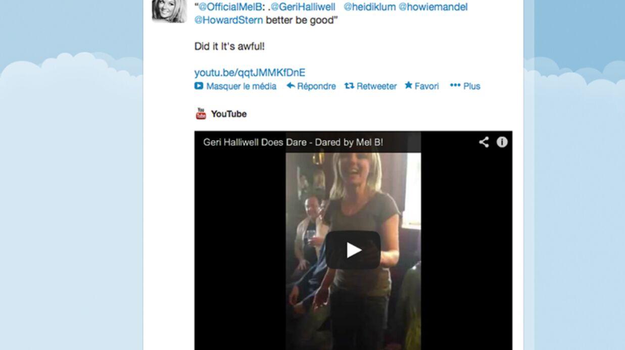 VIDEO Geri Halliwell chante à l'improviste dans un pub