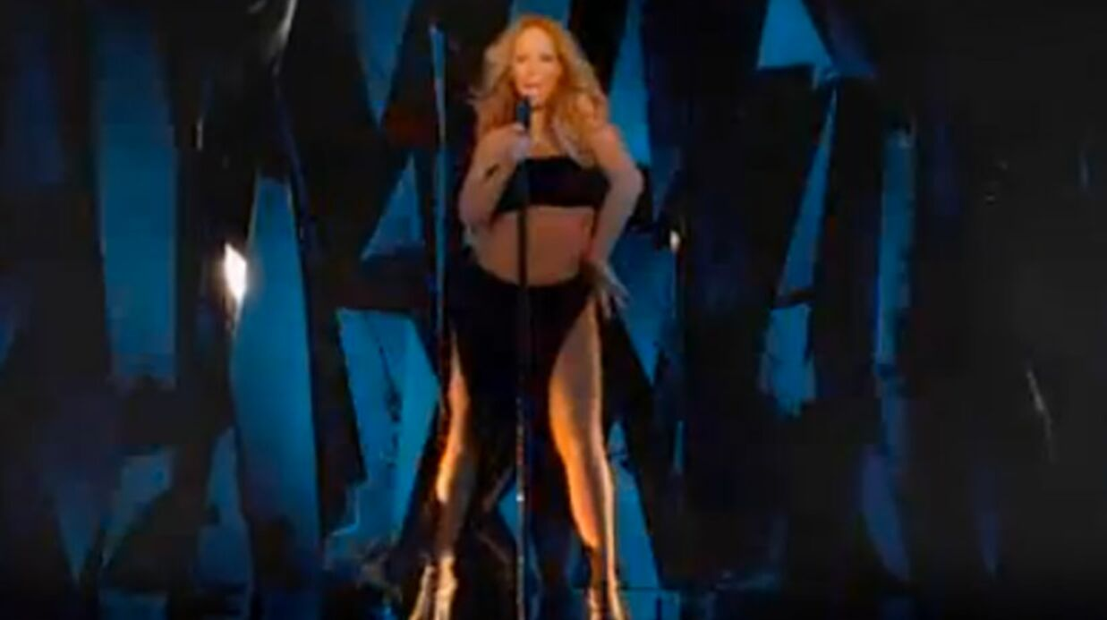 VIDEO Mariah Carey montre le résul­tat de son régime spec­ta­cu­laire