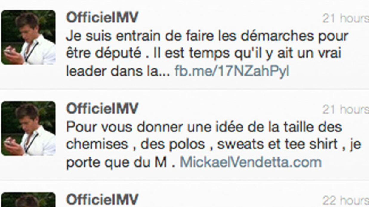 Mickael Vendetta se lance en politique (si, si) (LOL)