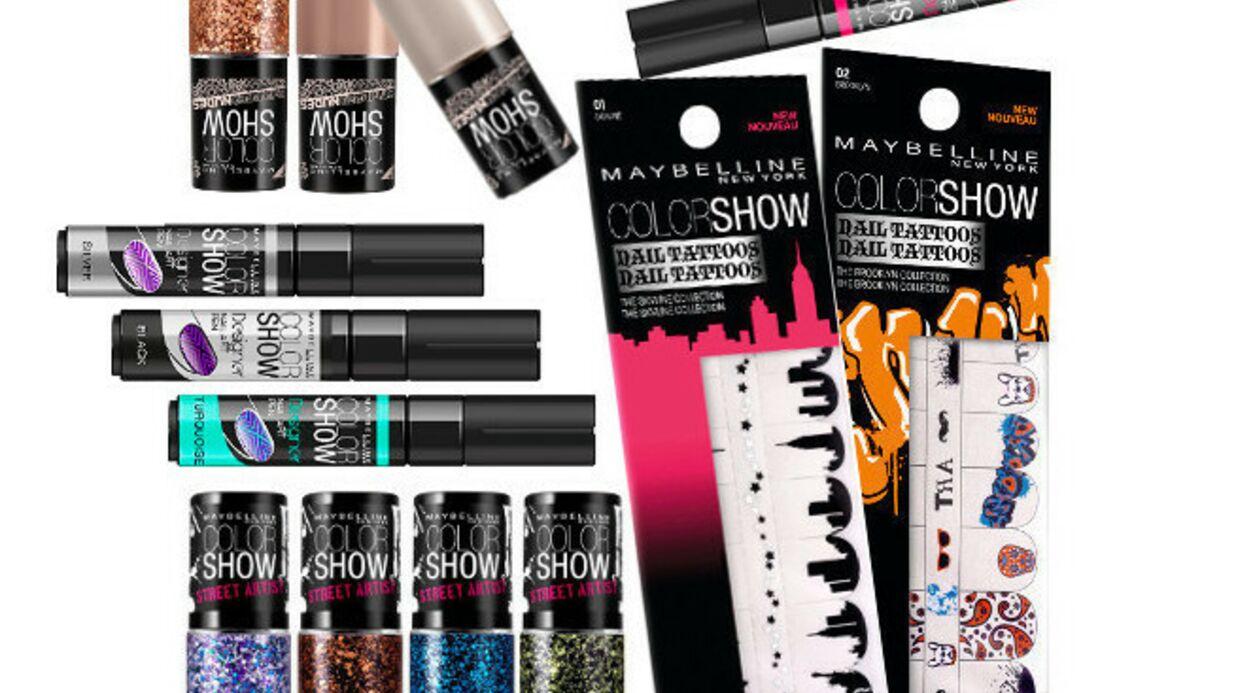 ColorShow joue la carte du Nail Art chez Gemey-Maybelline…