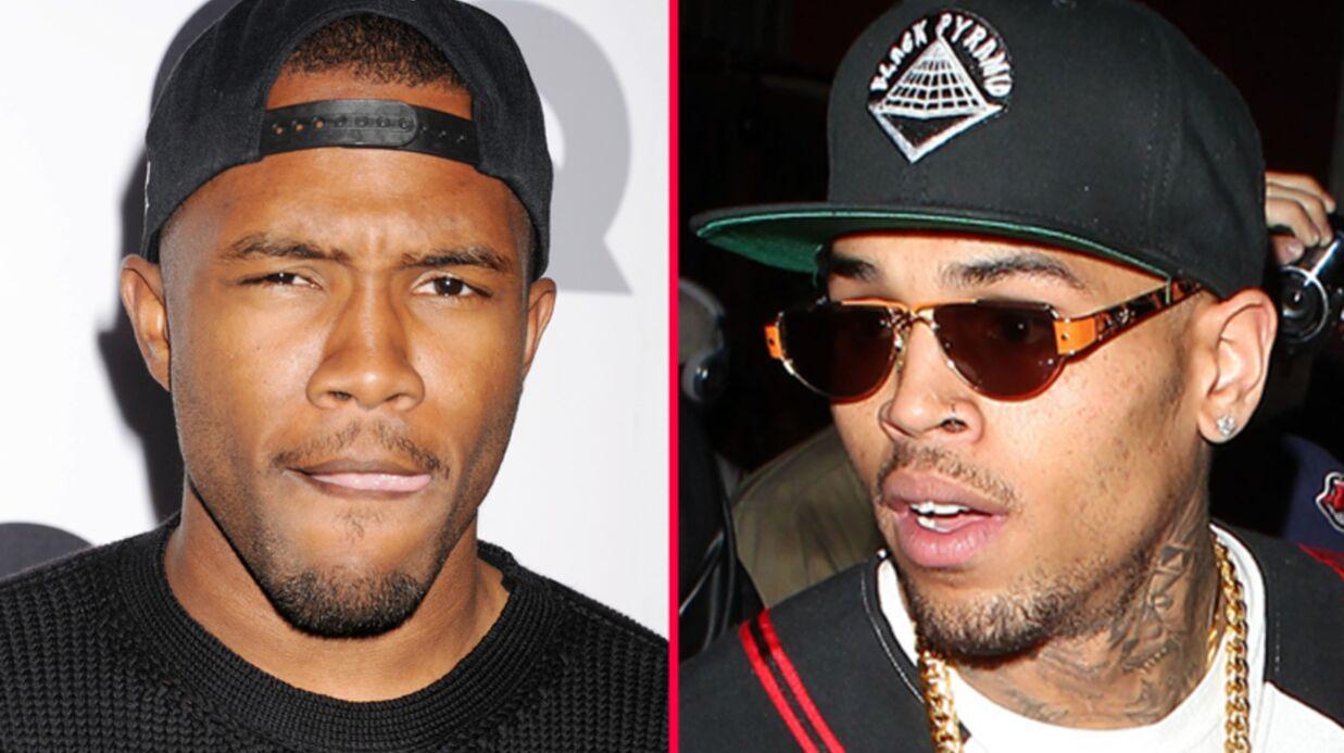 Grosse baston entre Chris Brown et Frank Ocean