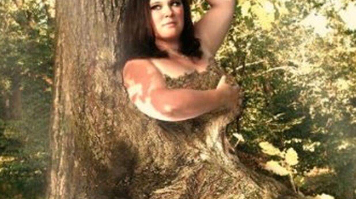 PHOTO Magalie Vaé se transforme en arbre pour son nouvel album