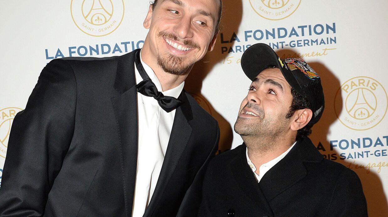 PHOTOS Jamel Debbouze s'amuse avec Zlatan au gala de la fondation du PSG