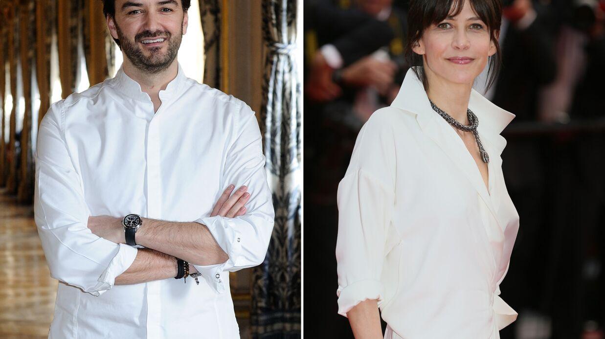 Exclu Voici – Sophie Marceau et Cyril Lignac vivent une belle histoire d'amour!