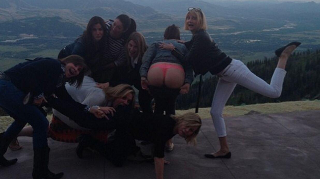 PHOTOS Sandra Bullock: pour ses 50 ans, une virée TRÈS festive entre copines