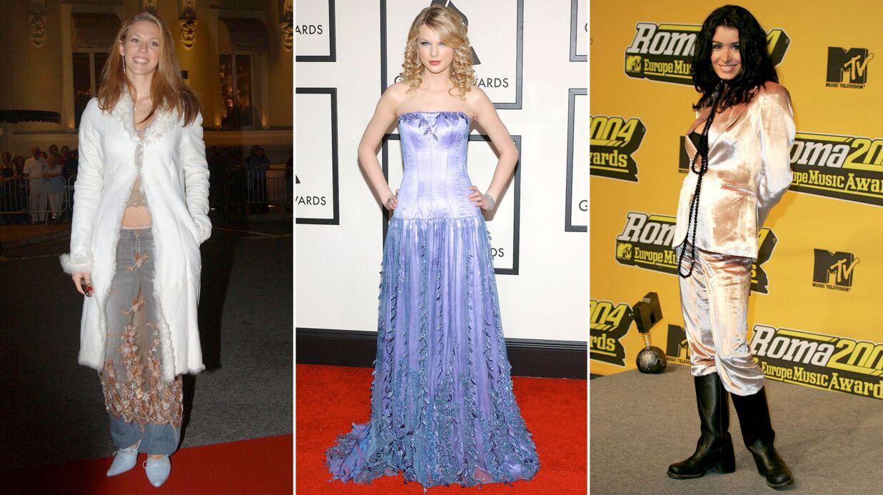 DIAPO Lorie, Taylor Swift, Jenifer… les évolutions look des popstars (et leurs débuts difficiles)