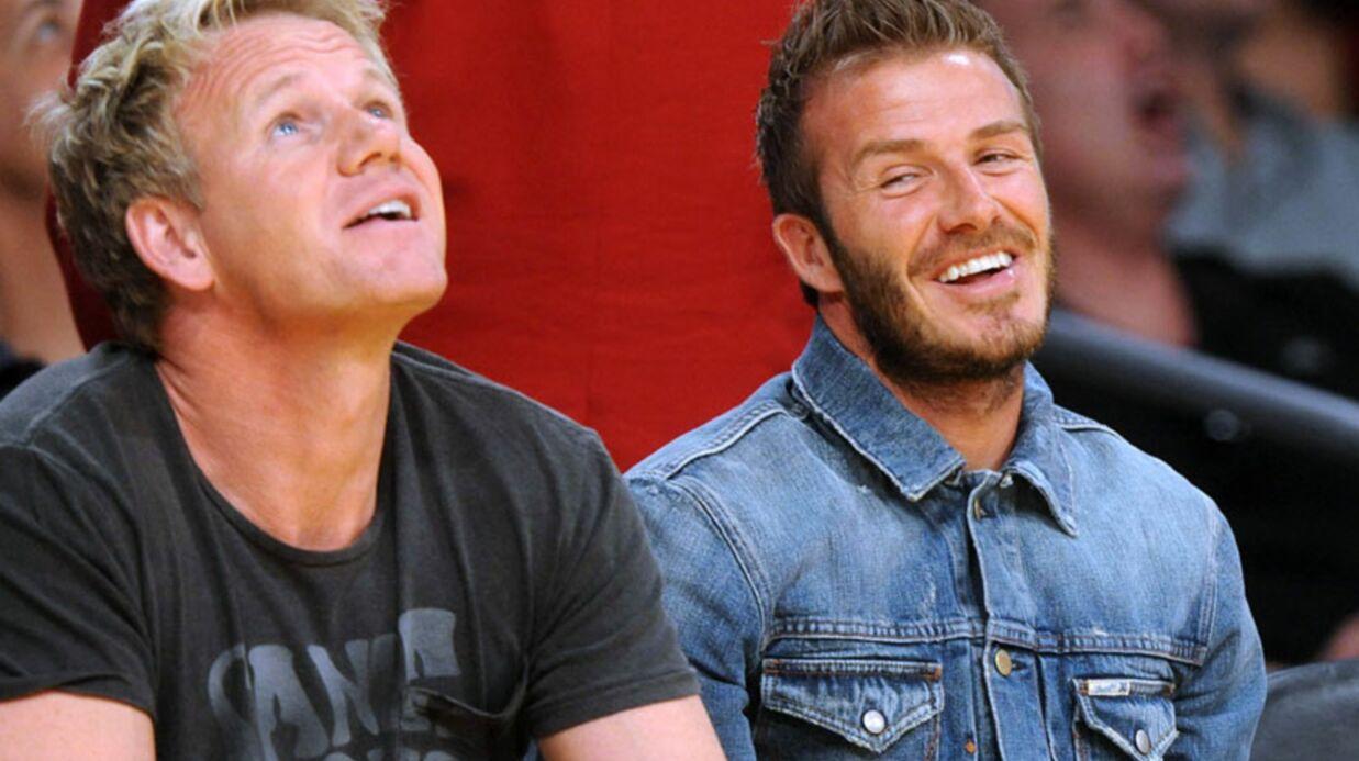 David Beckham va ouvrir deux restaurants avec Gordon Ramsay