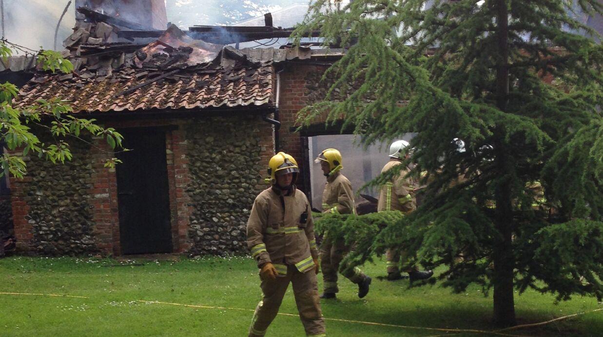PHOTOS Claudia Schiffer: sa superbe bâtisse anglaise ravagée par un incendie