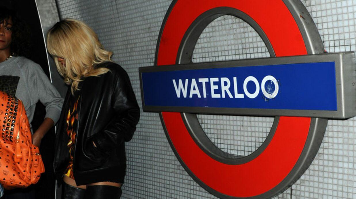 PHOTOS Rihanna prend le métro en cuissardes