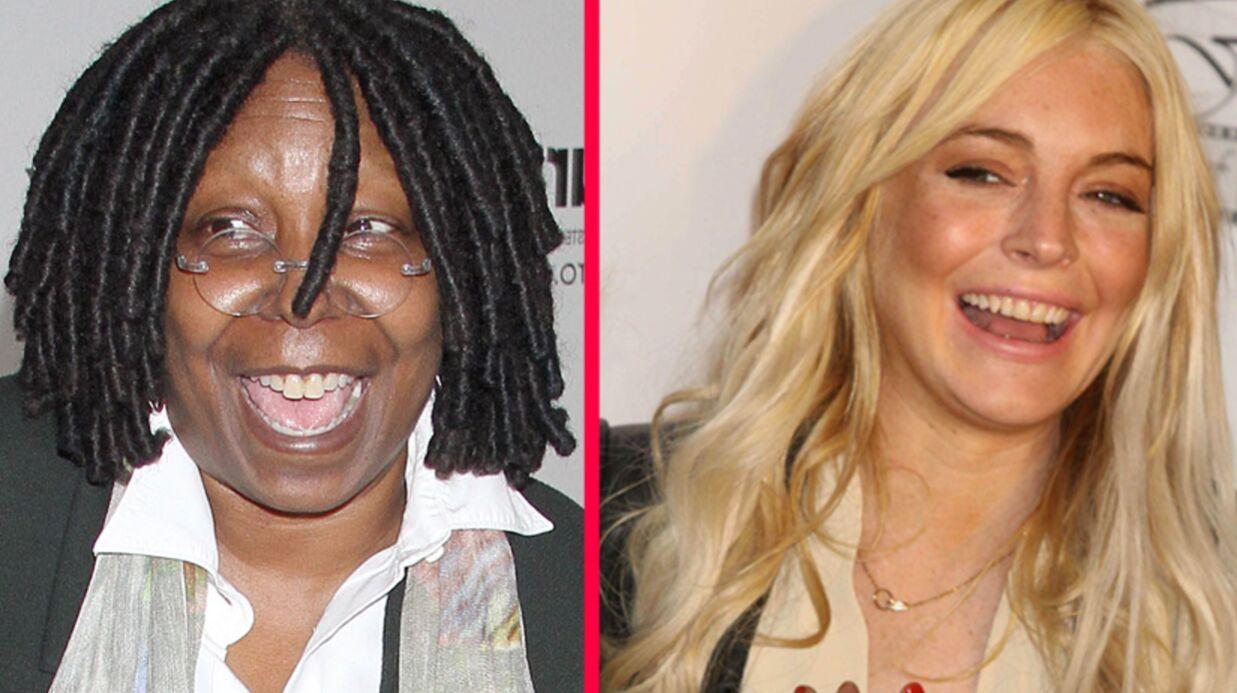 Whoopi Goldberg et Lindsay Lohan, nouvelles stars de Glee