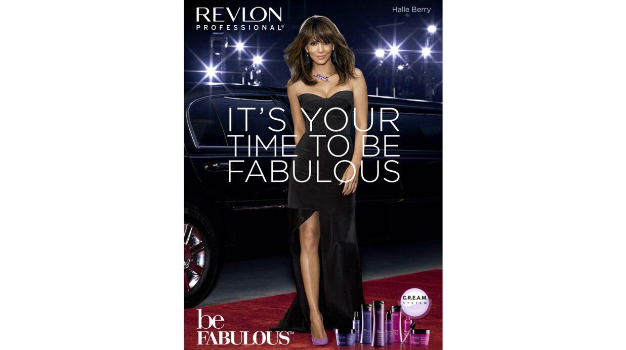 Halle Berry devient l'égérie de la campagne Be Fabulous de Revlon Professional
