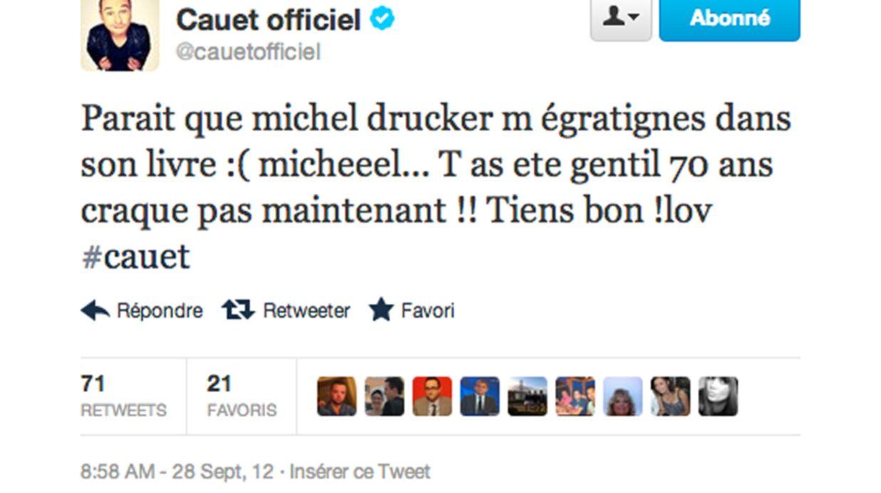Cauet répond avec humour aux attaques de Michel Drucker