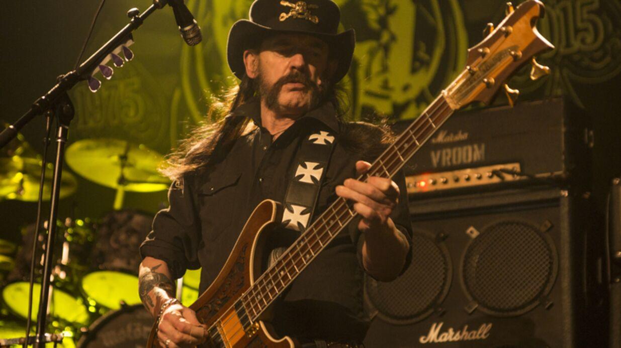 Lemmy Kilmister: le leader du groupe Motörhead est mort