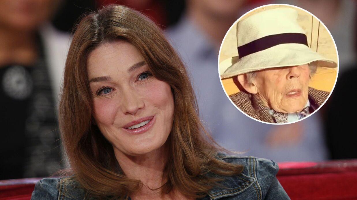 VIDEO Andrée, la mère de Nicolas Sarkozy, «kiffe au soleil» avec Carla Bruni