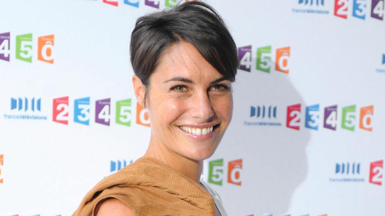 Carla Bruni avec Alessandra Sublet dans C à vous le 8 mars