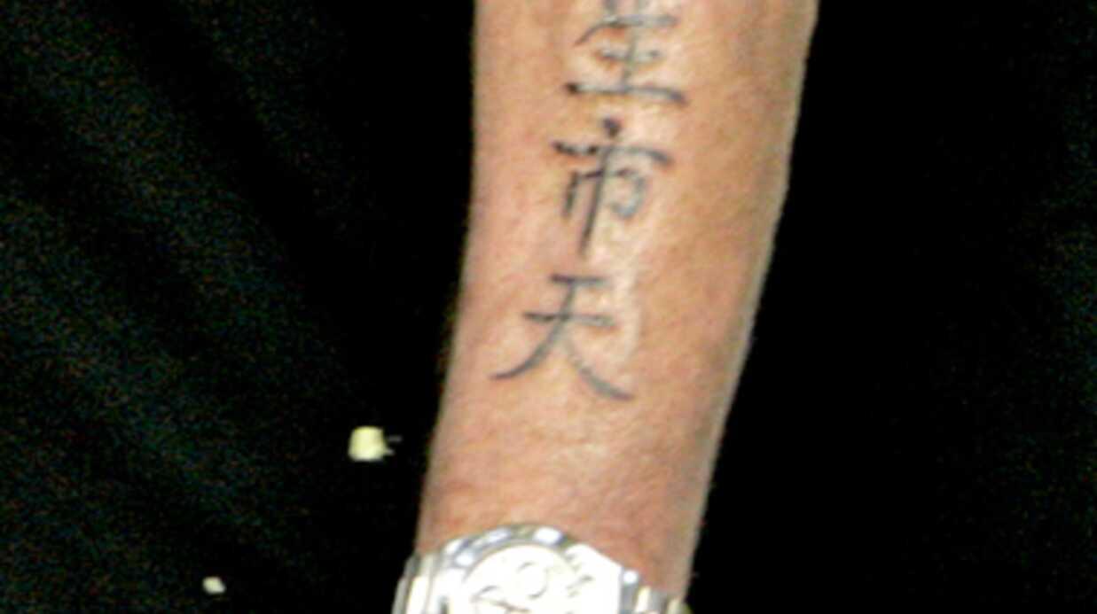PHOTOS Zoom sur les tatouages des stars