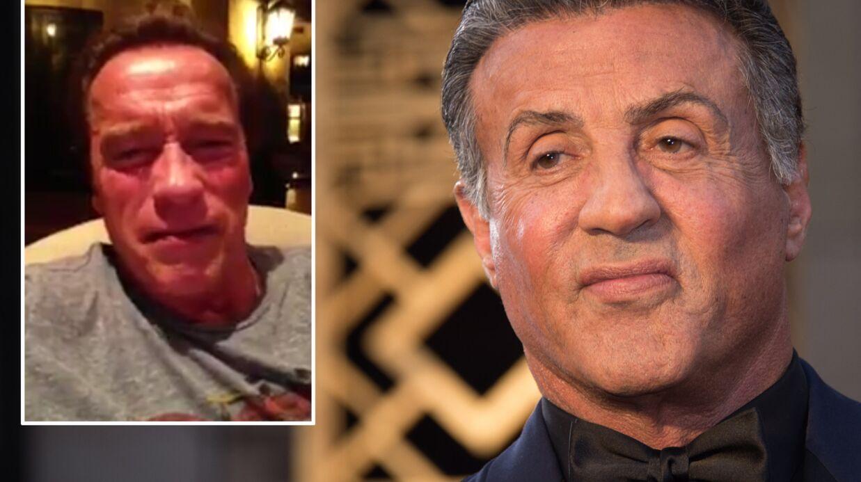 VIDEO Trop mignon, Arnold Schwarzenegger console Sylvester Stallone reparti bredouille des Oscars