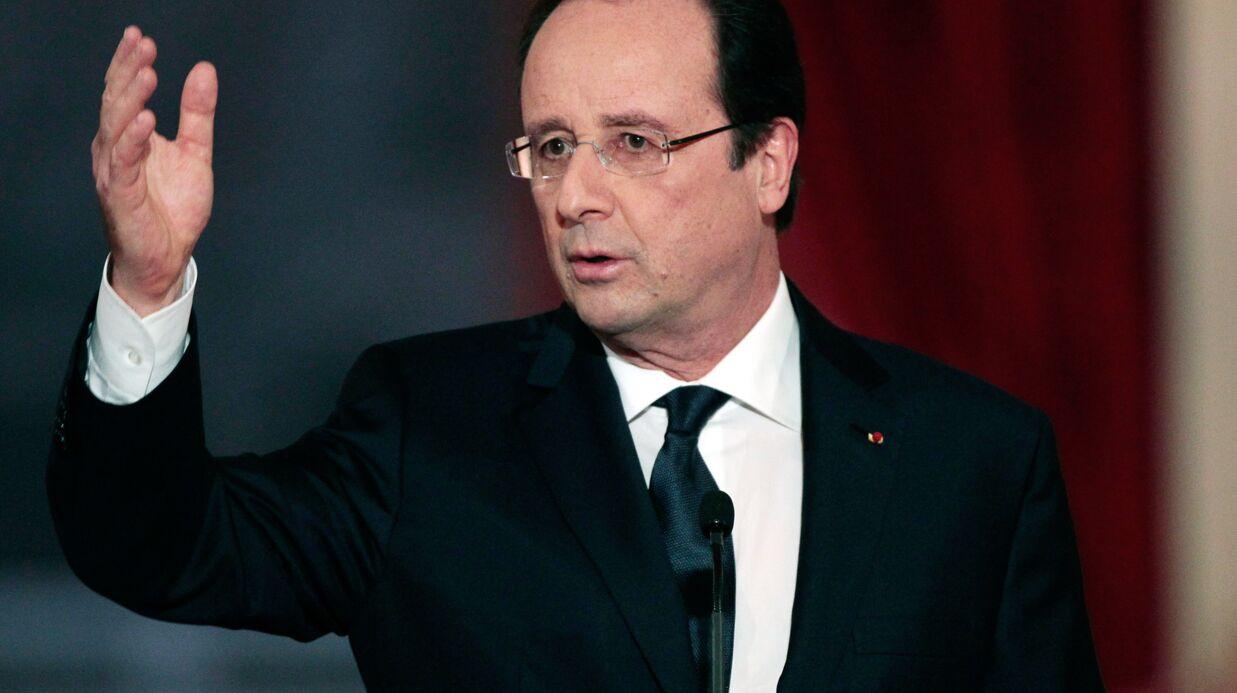 François Hollande se moque du tweet émouvant de Valérie Trierweiler au personnel de l'Elysée