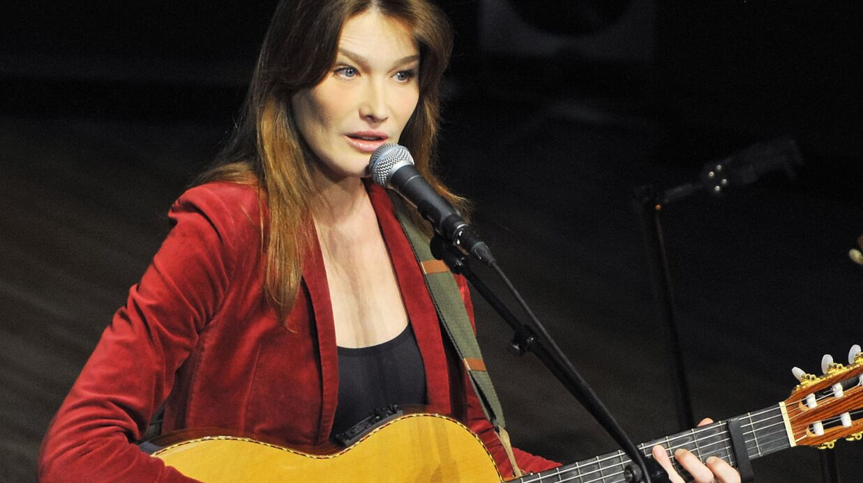 Carla Bruni n'arrêtera pas de chanter si Nicolas Sarkozy est réélu président