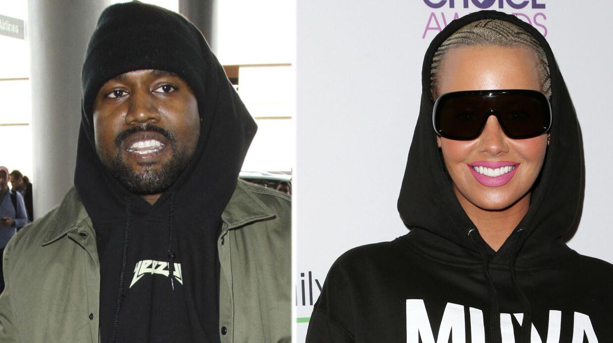 Kanye West répond à Amber Rose après son tweet obscène