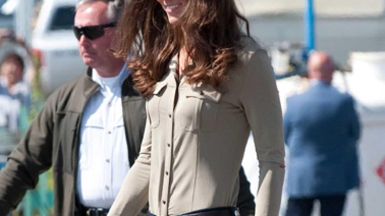 Kate Middleton: ses 43kg toute mouillée inquiètent