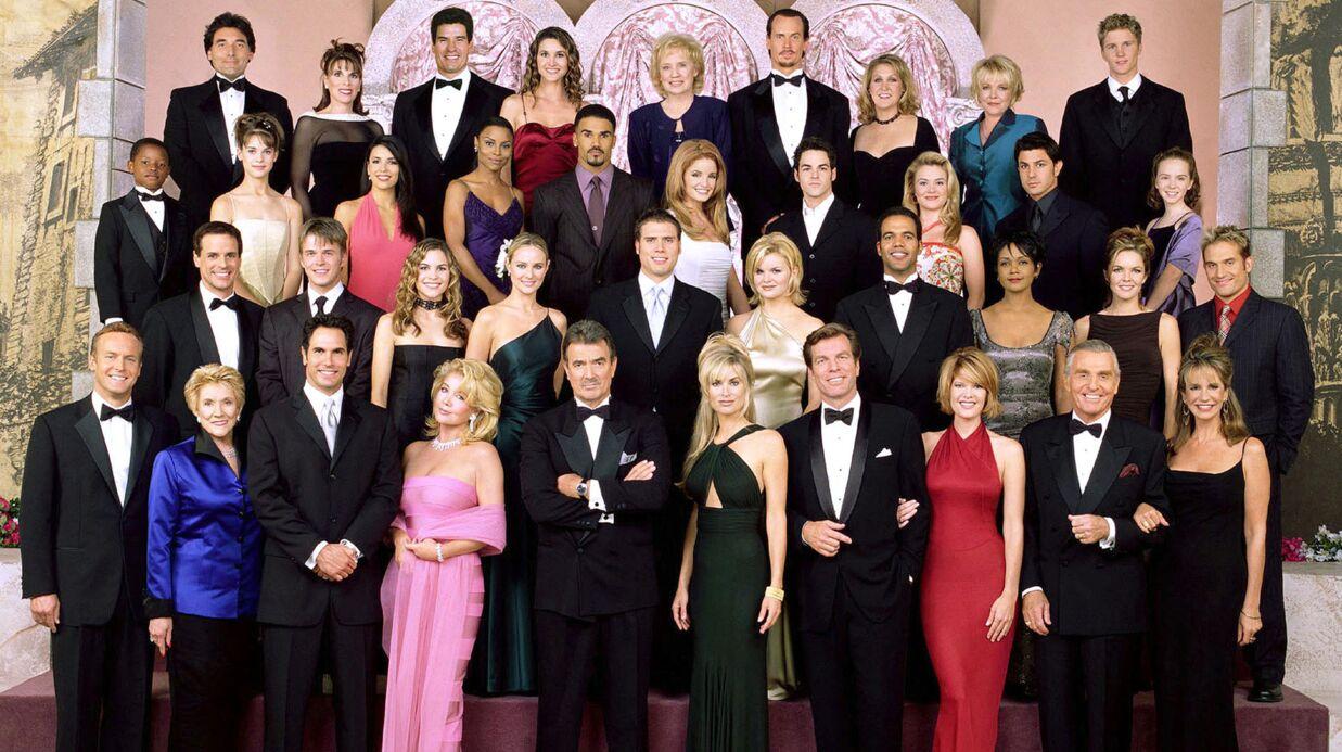 PHOTO Les Feux de l'amour: pour fêter le 11 000ème  épisode, les acteurs stars ont pris la pose