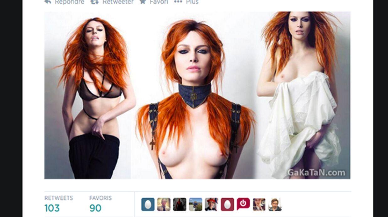 Elodie Frégé nue: ses photos sexy enflamment le web!