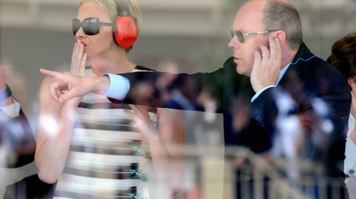 PHOTOS Charlène de Monaco captivée par la Formule 1