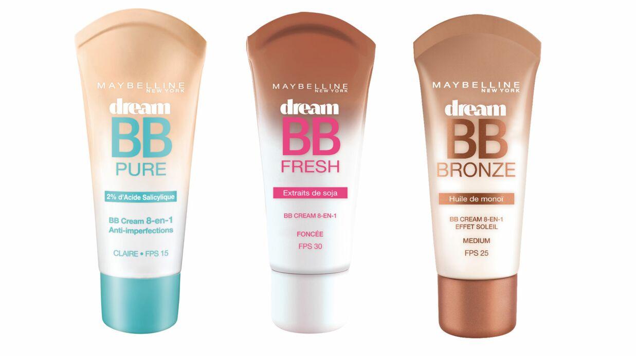 Maybelline innove: découvrez les trois nouvelles BB crèmes, Fresh, Pure et Bronze