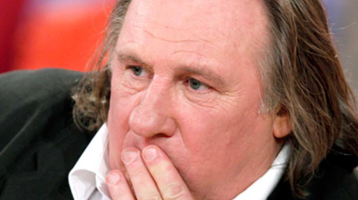 Gérard Depardieu en garde à vue pour conduite en état d'ivresse