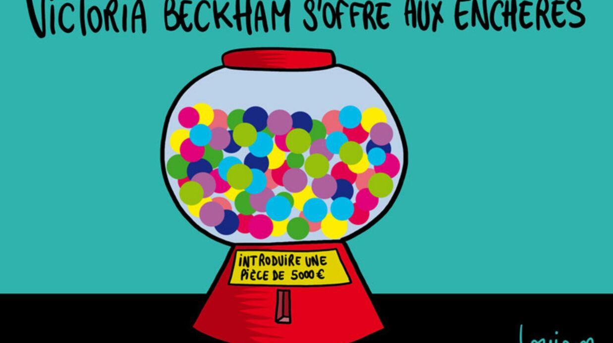 Louison a croqué… Victoria Beckham s'offre aux enchères