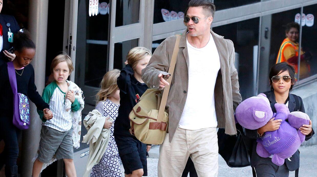Angelina Jolie a interdit à Brad Pitt de voir leurs enfants à Thanksgiving