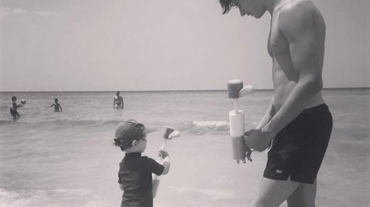 PHOTO Gad Elmaleh: le message touchant de son fils Noé à son petit frère