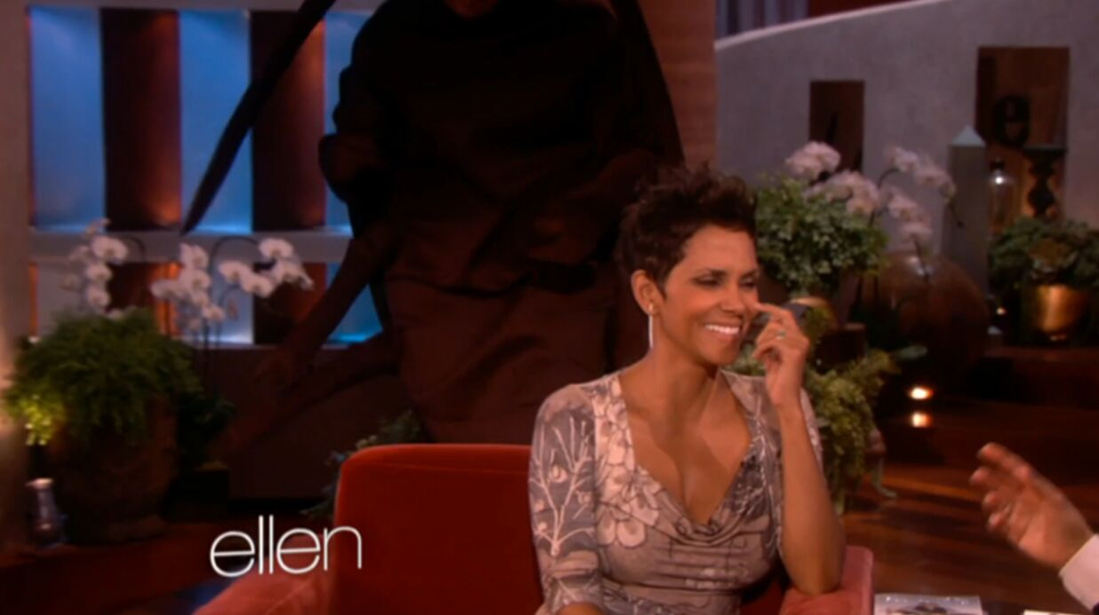 VIDEO Halle Berry attaquée par une arai­gnée géante