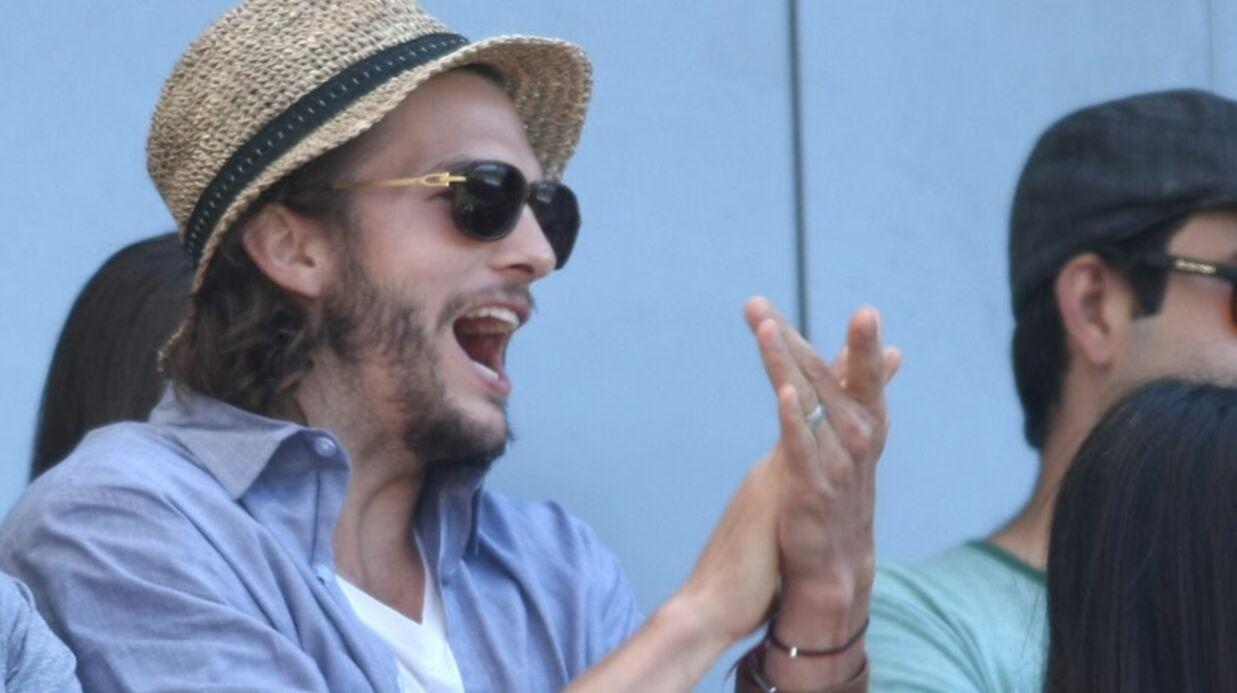 Ashton Kutcher, le visage de sa maitresse dévoilé