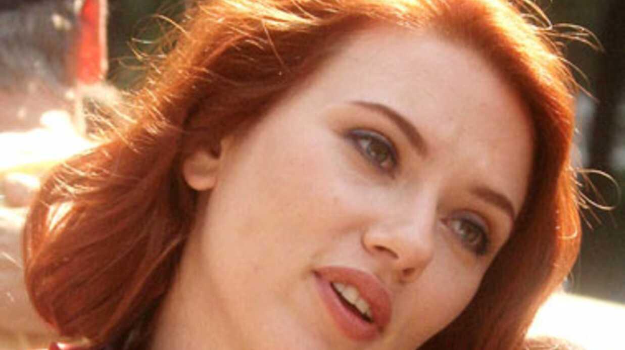 Scarlett Johansson réagit à la publication de ses photos hot
