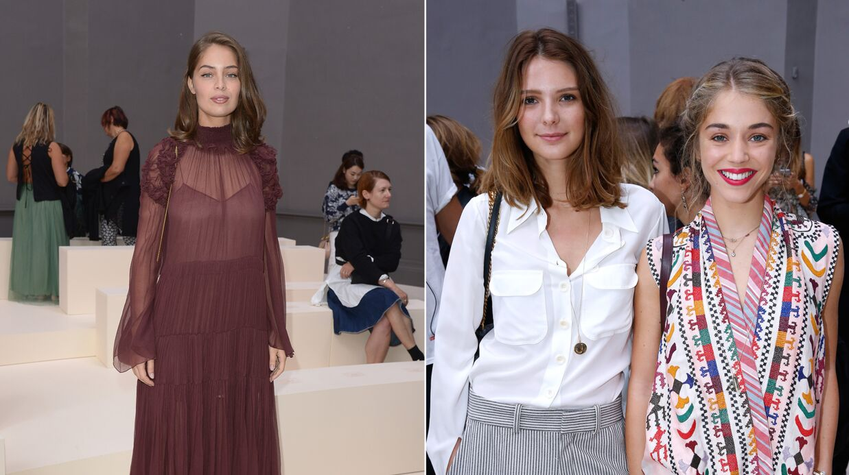 PHOTOS Fashion Week : Marie-Ange Casta, Alice Isaaz, José­phine Japy ultra chics pour Chloé
