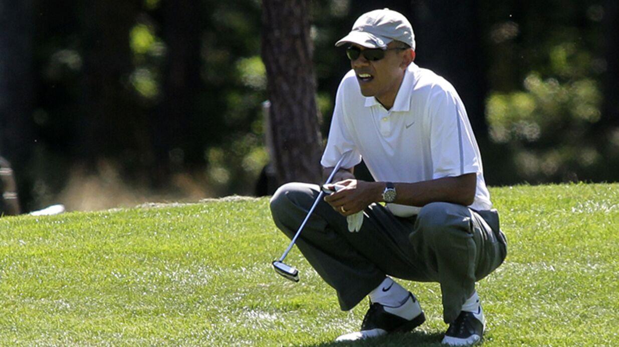 un mariage perturb hawa cause d une partie de golf de barack obama voici. Black Bedroom Furniture Sets. Home Design Ideas