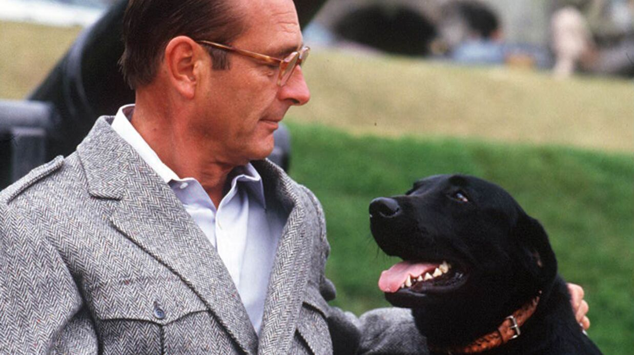 Jacques Chirac a fait enter­rer son chien en secret à l'Ély­sée