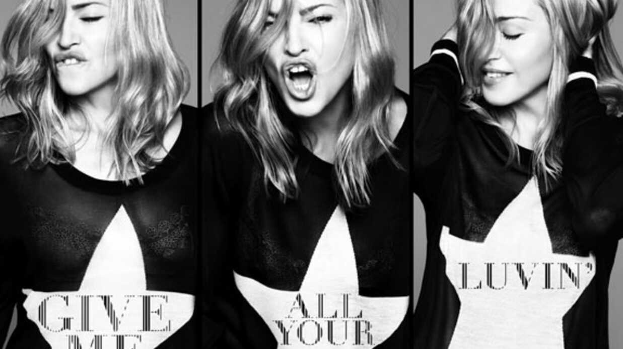 PHOTO Madonna rajeunit sur la pochette de son nouveau single