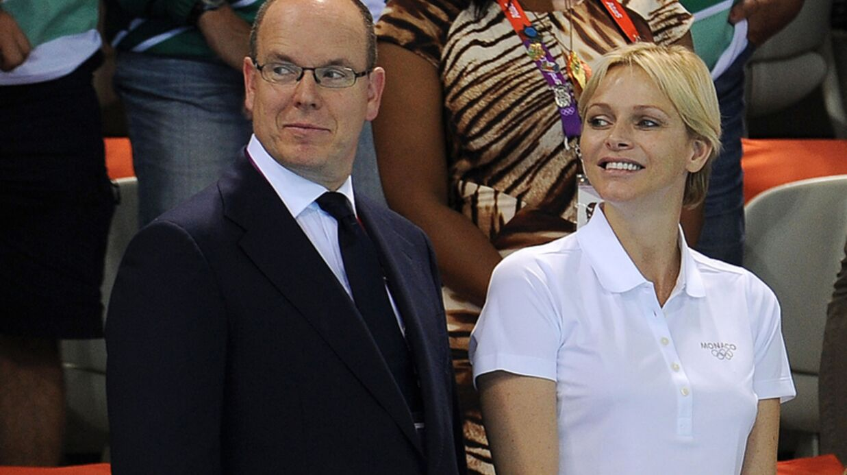PHOTOS Charlène de Monaco s'enflamme aux JO pour la natation
