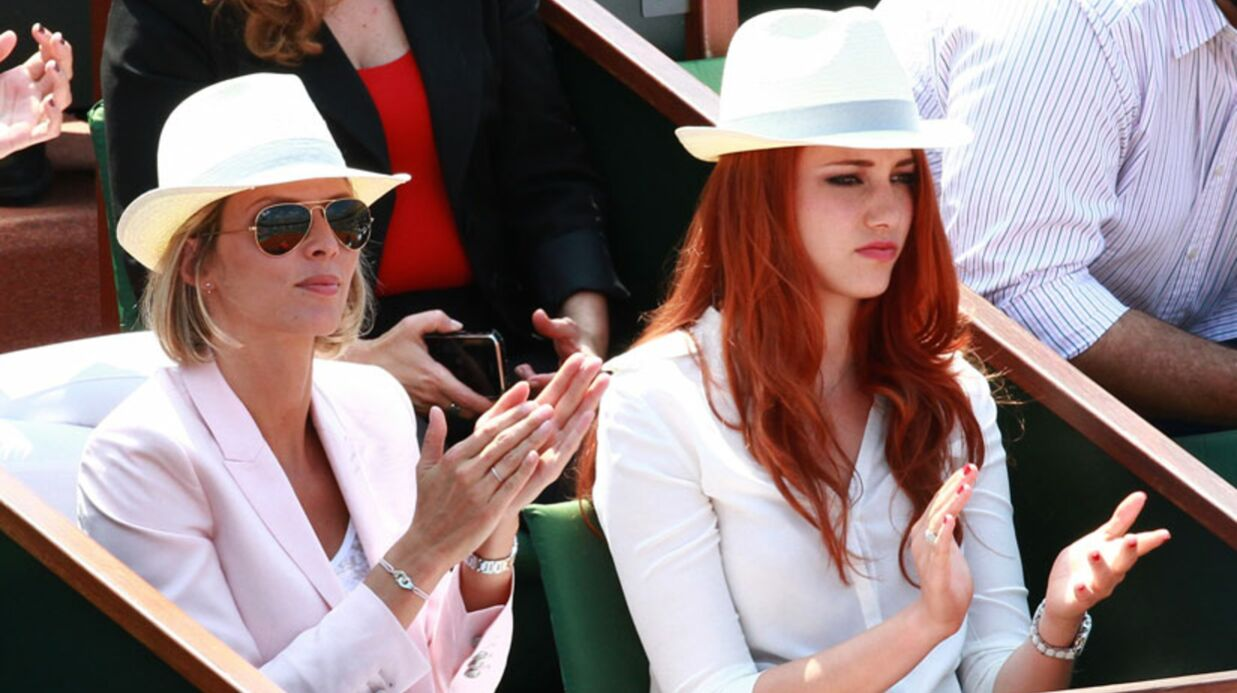 PHOTOS Les people se montrent au tour­noi de Roland-Garros
