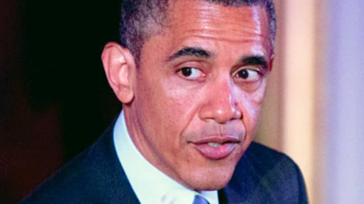VIDEO Barack Obama s'explique sur une mystérieuse trace de rouge à lèvres