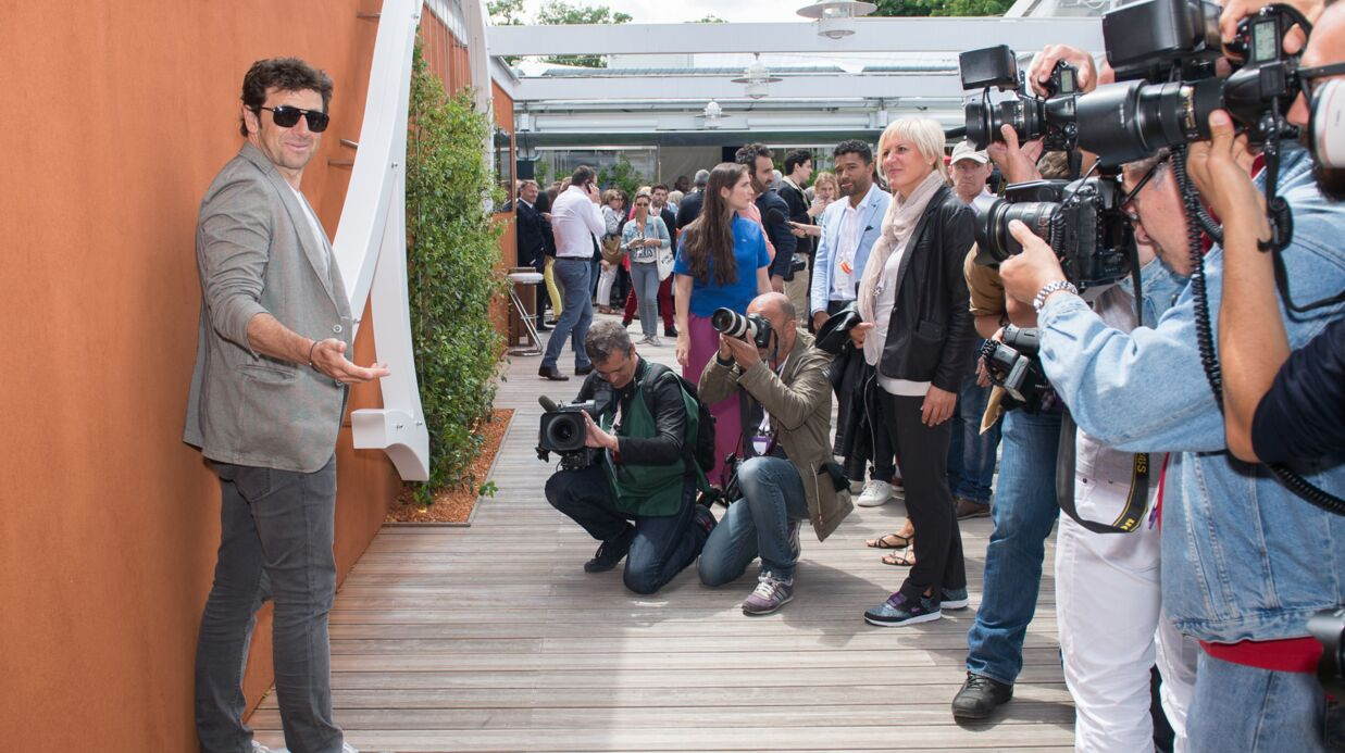 PHOTOS Patrick Bruel, Mélanie Thierry, Marina Foïs… tous fidèles à Roland-Garros