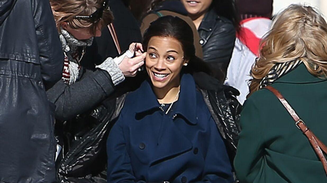 Zoe Saldana officiellement ambassadrice de L'Oréal