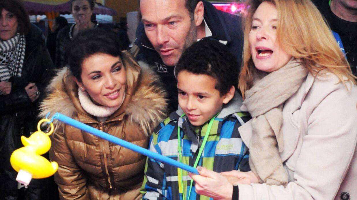 PHOTOS Valérie Trierweiler et Marc-Emmanuel s'éclatent à la Foire du Trône