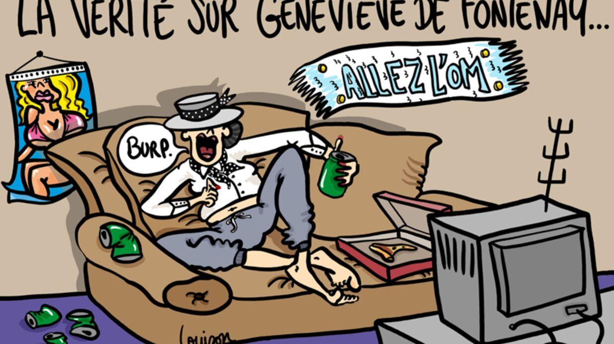 Louison a croqué: qui est vraiment Geneviève de Fontenay?